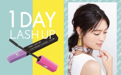 New Launch: 1Day Lash Up Silky Mascara